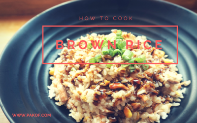 How To Cook Brown Rice – Pakistani Style