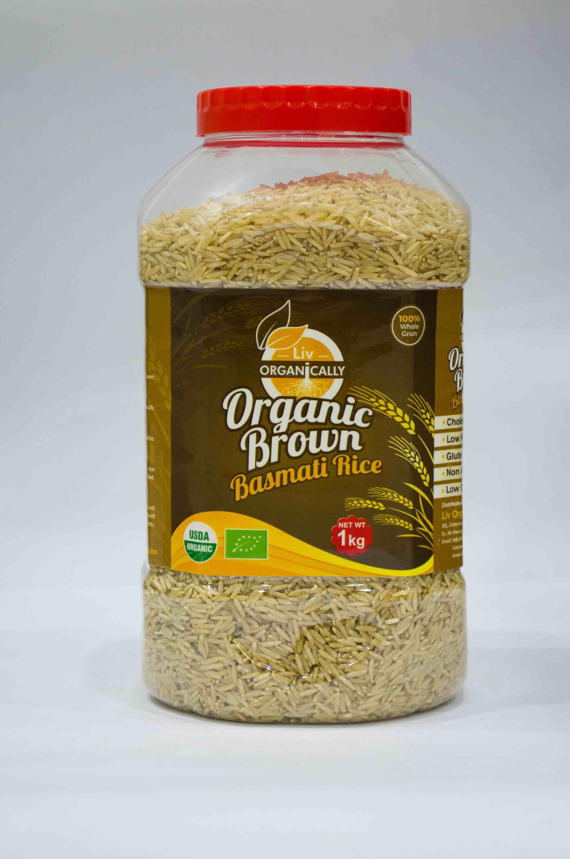 Bulk Organic Brown Rice Supplier from Pakistan | Buy at ...